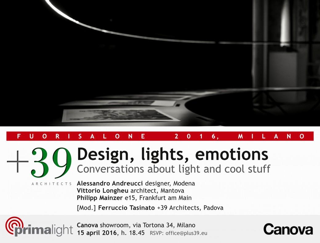 Design, Lights, Emotions