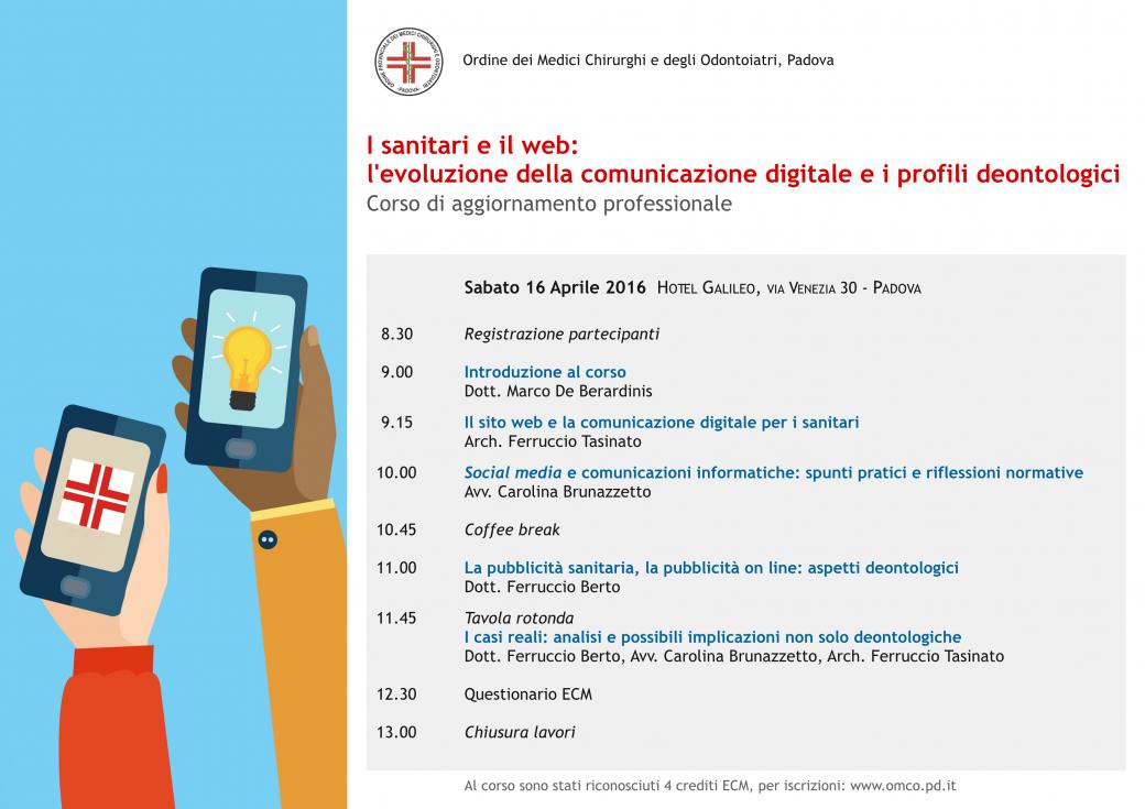 I sanitari e il web