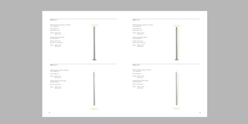 Brochure and catalogs / Opuscoli e cataloghi