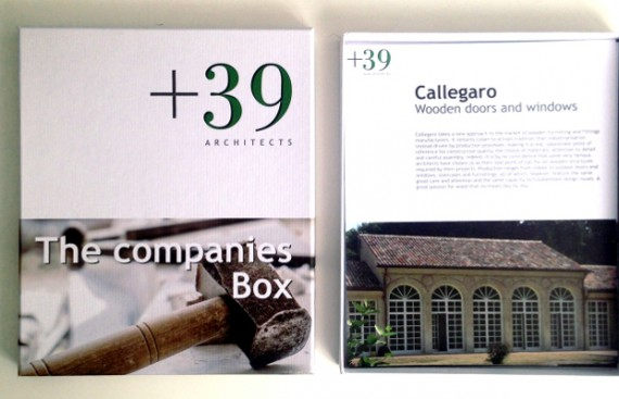 Brochure and catalogs / Opuscoli e cataloghi