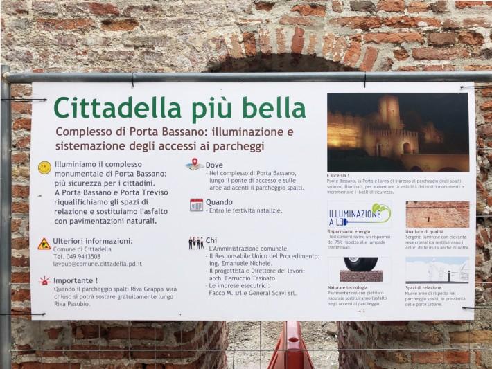 Bassano North Gate, Cittadella (Italy)